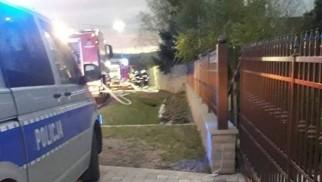 Pożar w powiecie wadowickim. Cała rodzina zatruła się dymem