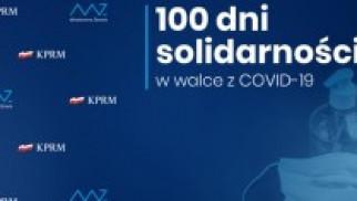 """Premier przedstawił plan """"100 dni solidarności w walce z Covid-19"""""""