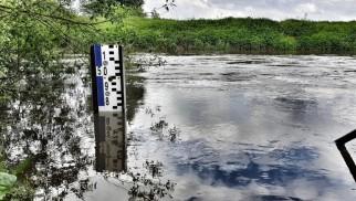 Stan ostrzegawczy na rzece Wisła w Jawiszowicach - InfoBrzeszcze.pl