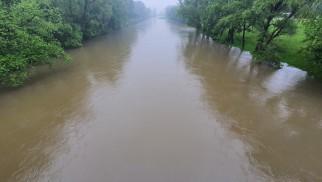 Stany ostrzegawcze na rzekach w powiecie oświęcimskim