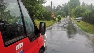 Strażacy interweniowali w związku z intensywnym opadem deszczu – ZDJĘCIA!
