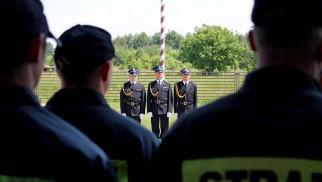Strażacy PSP Oświęcim awansowani na wyższe stopnie służbowe