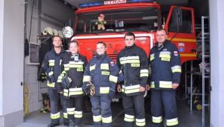 Strażacy z Brzeszcz Boru to ludzie z otwartymi sercami