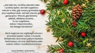 Świąteczne życzenia przesyła Gminna Biblioteka Publiczna w Kętach