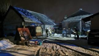 Tragiczny pożar w Piotrowicach. Nie żyje mężczyzna – ZDJĘCIA!