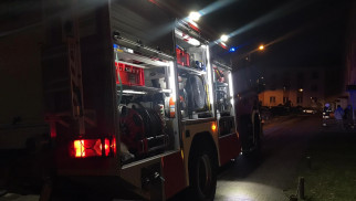 Wieczorne interwencje strażaków w powiecie oświęcimskim – ZDJĘCIA!