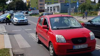 Wypadek drogowy w Oświecimiu. 81-latek potrącony na przejściu dla pieszych. ZDJĘCIA!