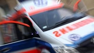 Wypadek na DK 28 w Radoczy. Motocyklista zderzył się z samochodem. Droga zablokowana