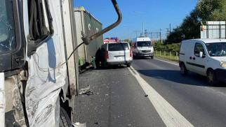 Wypadek na dk 28 w Wadowicach. Są utrudnienia w ruchu