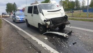 Wypadek w Kętach. Są osoby poszkodowane. Utrudnienia na DK52 – ZDJĘCIA!