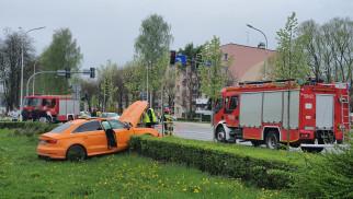 Wypadek w Oświęcimiu. Trwają działania służb ratowniczych – ZDJĘCIA!