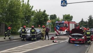 Wypadek w Oświęcimiu. Zablokowana DK44