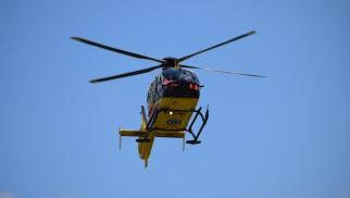 Wypadek w Przecieszynie. Na miejscu lądował śmigłowiec LPR