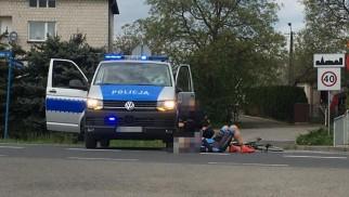 Wypadek z udziałem Policyjnego radiowozu – ZDJĘCIA!