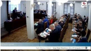 XIV sesja Rady Miejskiej w Kętach - transmisja na żywo