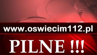 Zablokowana DK28 w Graboszycach.