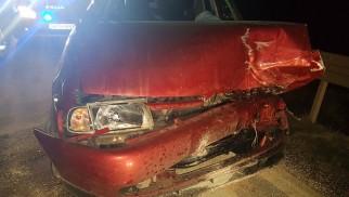 ZATOR. 18-latek zasnął za kierownicą, doszło do czołówki