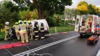 ZATOR. Policjant ratował życie młodego kierowcy