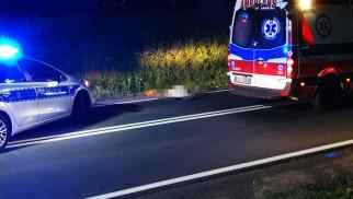 Zginął na drodze, bo nie miał świateł – FOTO