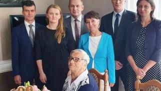 Zofia Nowak skończyła 100 lat – FOTO