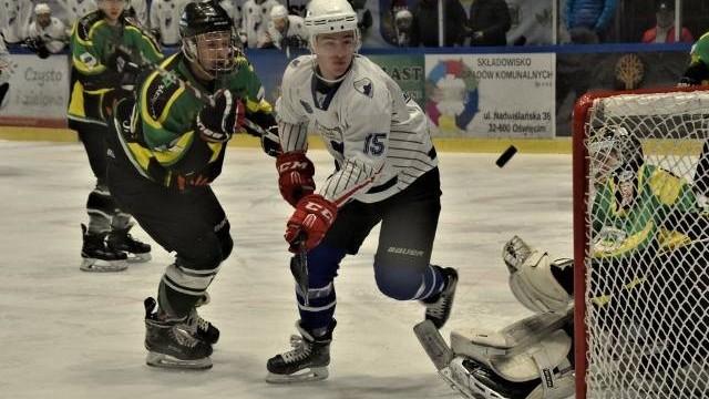 1 liga hokeja. UKH Unia Oświęcim podejmowała wicelidera, rezerwę JKH Jastrzębie. Zdecydowała trzecia tercja