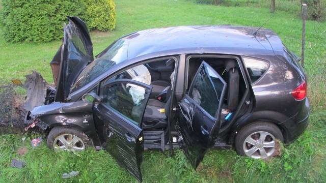 11-latka ranna w zderzeniu samochodów – FOTO