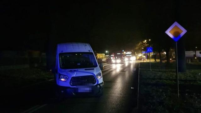 12-latka potrącona na przejściu dla pieszych - FOTO - InfoBrzeszcze.pl