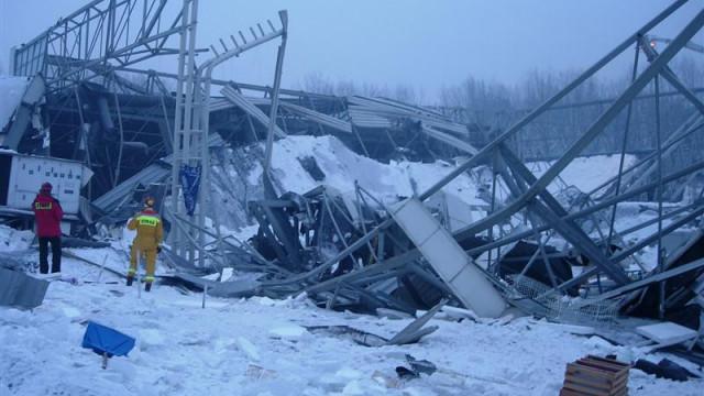 15-lat od wielkiej tragedii w MTK. GPR OSP Kęty była pierwszą jednostką z psami na miejscu katastrofy