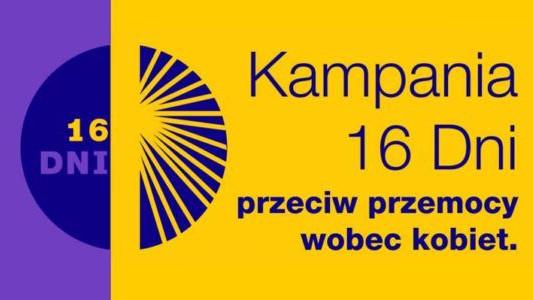 16 dni przeciwko przemocy wobec kobiet