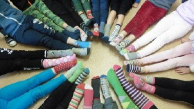 21 marzec - Światowy Dzień Zespołu Downa w klasach 1-3 Szkoły Podstawowej im. B. Obary w Witkowicach