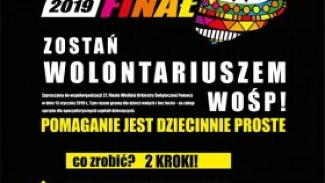 27 Finał WOŚP - zostań wolontariuszem!