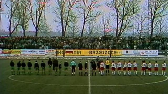 """28 lat temu """"Biało-czerwoni"""" rozegrali mecz na stadionie Górnika Brzeszcze - InfoBrzeszcze.pl"""