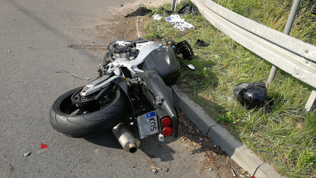 32-latek z Brzeszcz został poważnie ranny w wypadku w Bieruniu. ZDJĘCIA!