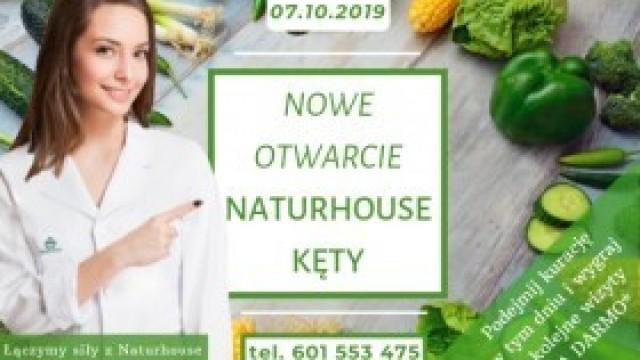 7 października NATURHOUSE KĘTY otwiera się na nowo !!! [artykuł sponsorowany]