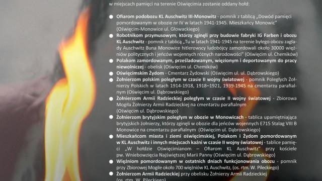 71. rocznica oswobodzenia KL Auschwitz - Birkenau i miasta Oświęcimia