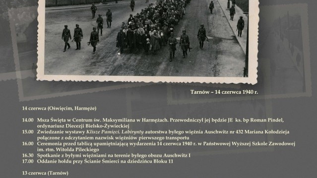 76. rocznica deportacji do KL Auschwitz polskich więźniów