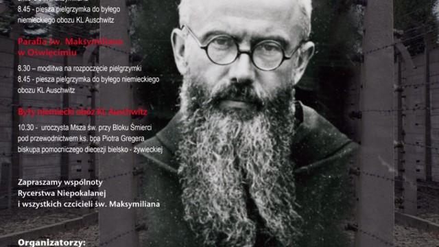 78. rocznica śmierci św. Maksymiliana Marii Kolbe
