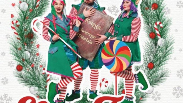 """""""Elfy Trzy"""" – musical mikołajkowo-świąteczny w wykonaniu Teatru Kultureska"""