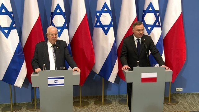 A. Duda: Wyjaśniłem prezydentowi Izraela powody mojej nieobecności na obchodach w Jerozolimie – FILM
