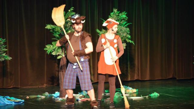 Afera leśna - spektakl edukacyjny dla dzieci