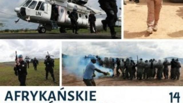 """Afrykańskie wędrówki pod błękitną flagą. Grupa Operacyjna """"Kęty"""" zaprasza na spotkanie!"""
