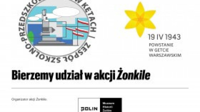 AKCJA ŻONKILE w ZSP nr 3 Kęty Podlesie