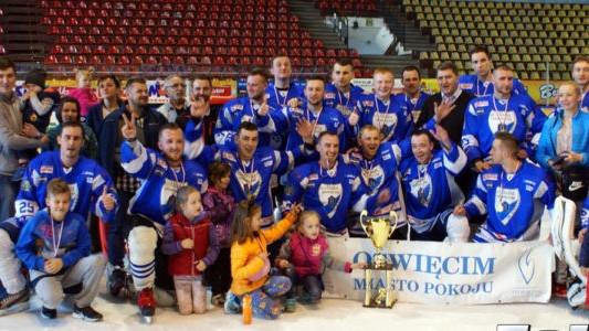 AKH Unia Oświęcim mistrzem amatorskiego hokeja – FILMY, FOTO