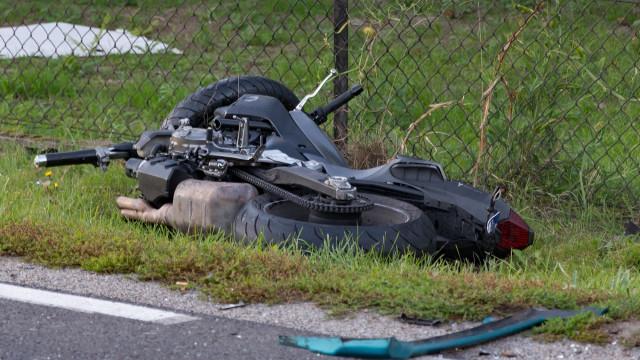 AKTUALIZACJA: Wypadek w Jawiszowicach. Motocyklista poważnie ranny. ZDJĘCIA!