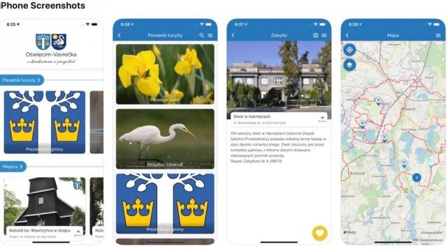 Aplikacja turystyczna po gminie Oświęcim