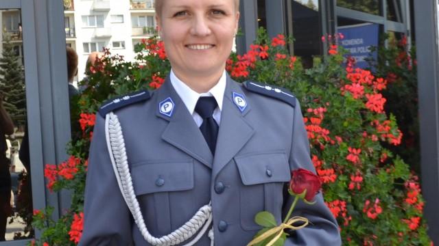 Aspirant Anna Bibrzycka, zajęła trzecie miejsce w eliminacjach wojewódzkich I Ogólnopolskiego Konkursu dla Policjantów Oskarżycieli Publicznych