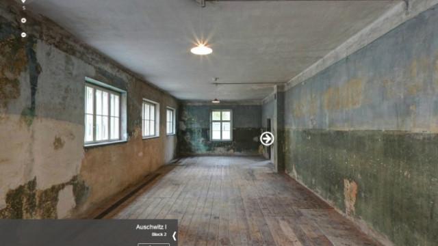 AUSCHWITZ. Miejsce Pamięci w wirtualnych panoramach