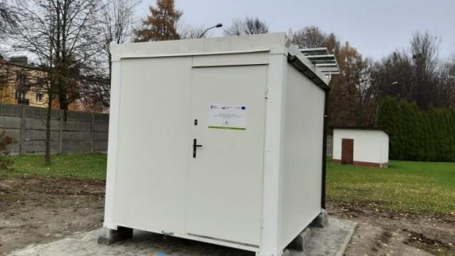 Automatyczna stacja pomiaru powietrza już stoi. Pracę zacznie w 2020 roku