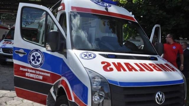 Babice -  wypadek na Śląskiej. Dwie osoby trafiły do szpitala