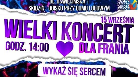Besides, Blu'Ska, Dziki Squad i inni zagrają dla Franka - InfoBrzeszcze.pl